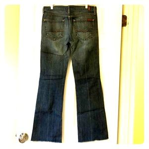 7 For All Mankind Bootcut Jeans 29 Dark